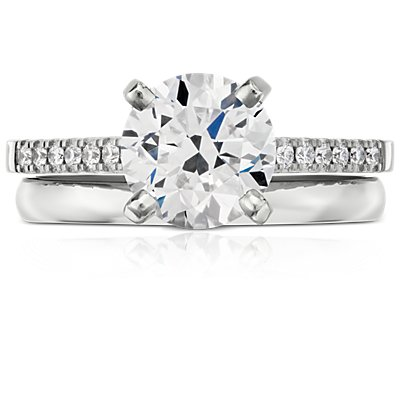 Classic Wedding Ring in 18k White Gold (2mm)