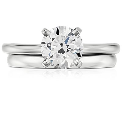 Alliance Classic en or blanc 18 carats (2 mm)