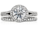 Pavé Diamond Eternity Ring in Platinum (3/8 ct. tw.)