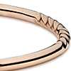 Twist Bangle Bracelet in 14k Rose Gold