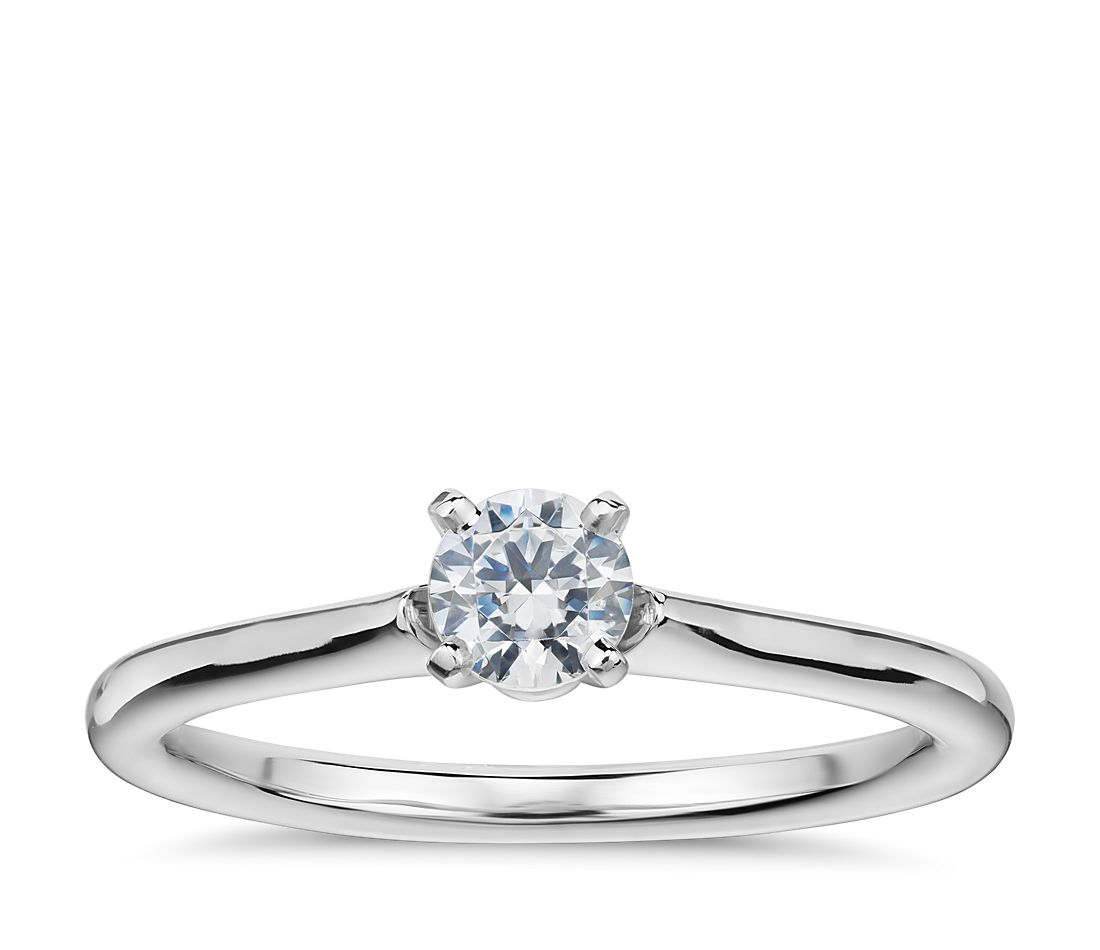 Lifestyle Mirror - Engagement Ring from Blue Nile