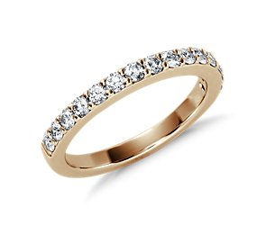 Pavé Diamond Ring in 18K Yellow Gold (1/2 ct. tw.)