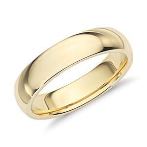 NEW 59 WEDDING RINGS YELLOW GOLD 18K - Wedding Band Gold