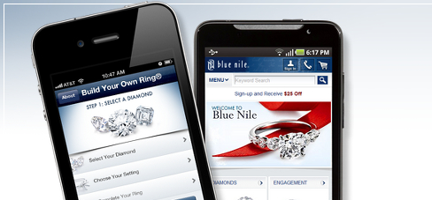 Blue Nile On Your Phone