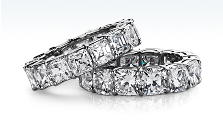 Extraordinary Diamond Eternity Rings