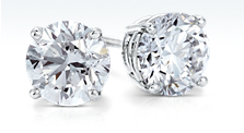 Premier Diamond Earrings in Platinum (3 ct. tw.)