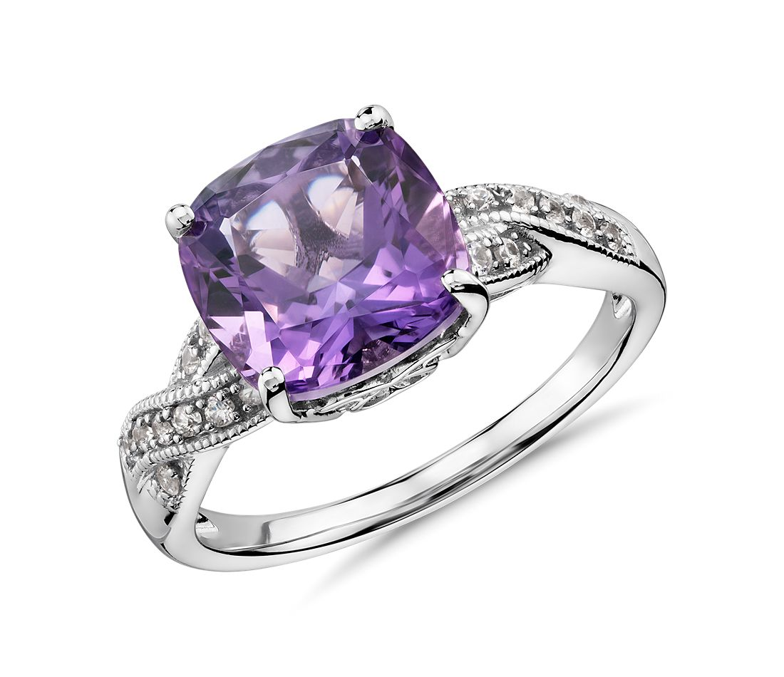 amethyst rings - photo #2