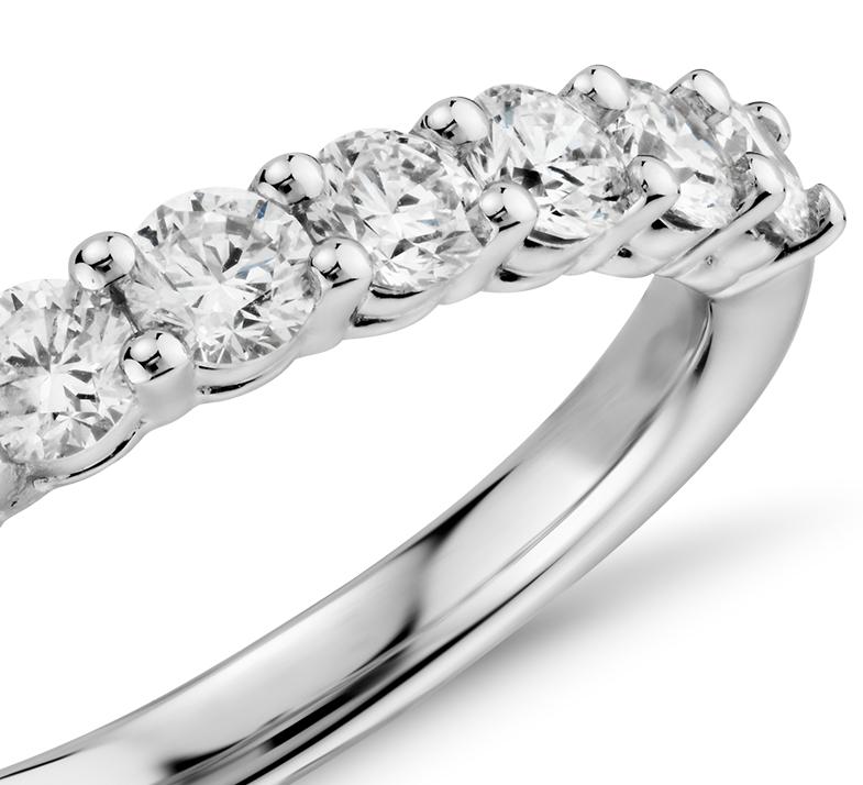 Bague en diamant Aria en or blanc 18carats (1carat, poids total)