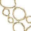 Collier plastron artisanal en or jaune 14carats
