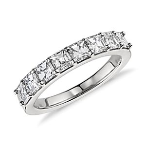 Asscher-Cut Diamond Ring in Platinum (1.25 ct. tw.)