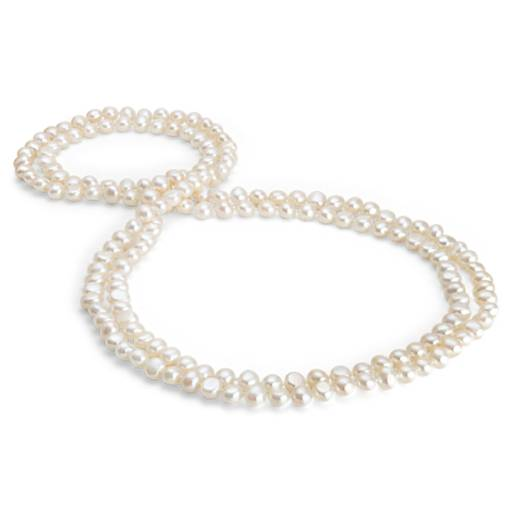 Baroque Freshwater Cultured Pearl Necklace - 54