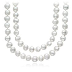 "Baroque Freshwater Cultured Pearl Necklace - 54"" Long"