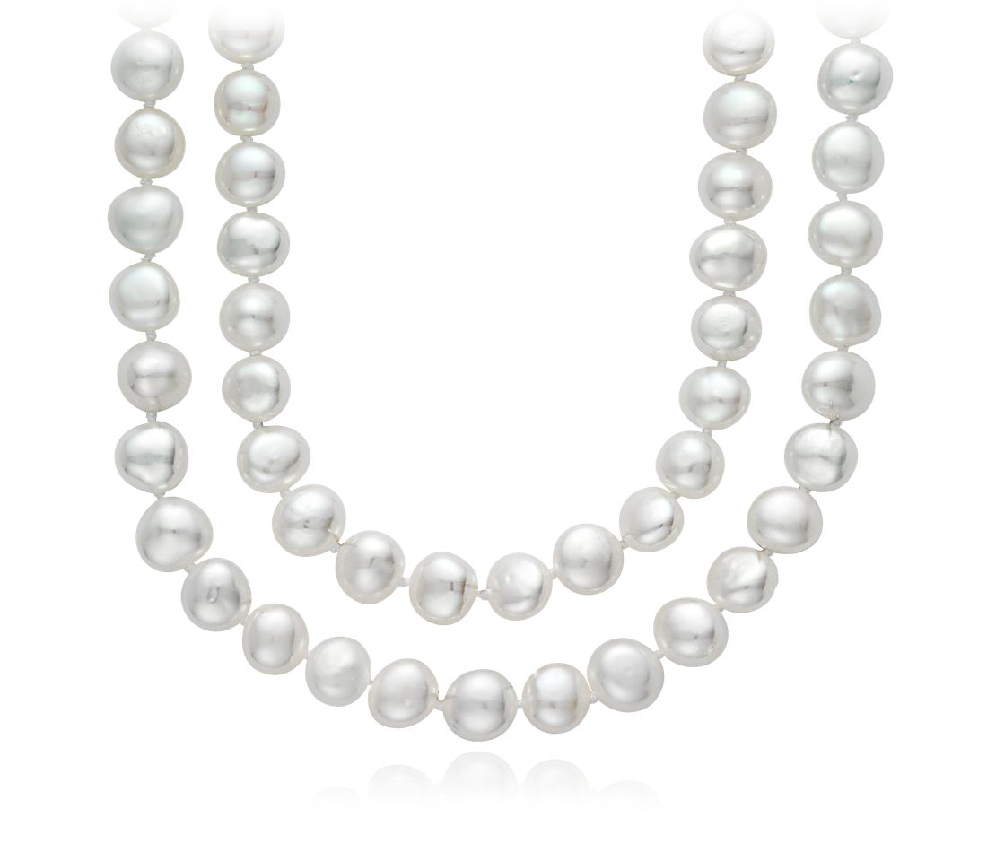 Baroque Freshwater Cultured Pearl Necklace - 54""