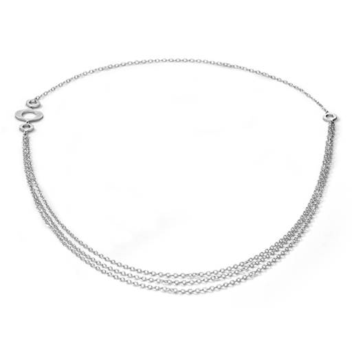 Bree Richey Kasbah Necklace in Sterling Silver