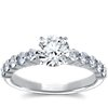 Bella Diamond Engagement Ring in Platinum (over 1/2 ct. tw.)