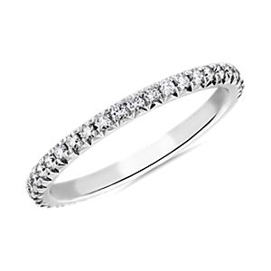 NEW Blue Nile Studio Heiress Diamond Ring in Platinum (1/3 ct. tw.)