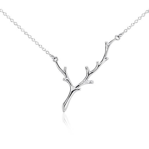 Branch Necklace in Sterling Silver