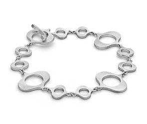Bree Richey Kasbah Link Bracelet in Sterling Silver