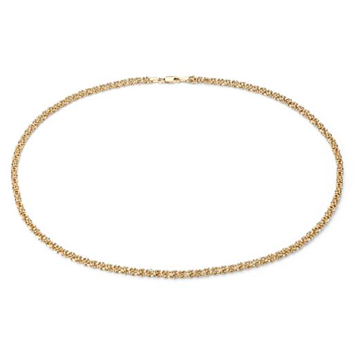 NEW Petite Byzantine Necklace in 14k Yellow Gold