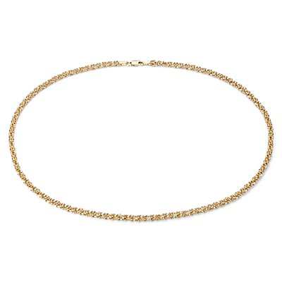 Petite Byzantine Necklace in 14k Yellow Gold