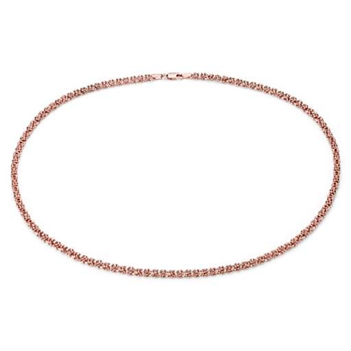 NUEVO. Gargantilla bizantina, en oro rosado de 14k