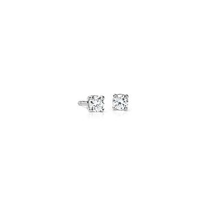 Canadian Diamond Stud Earrings in 18k White Gold (1/4 ct. tw.)