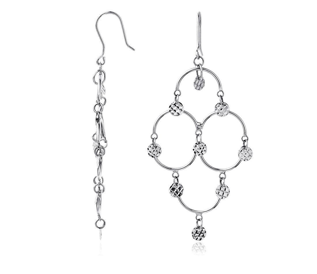 Chandelier Earrings in Sterling Silver