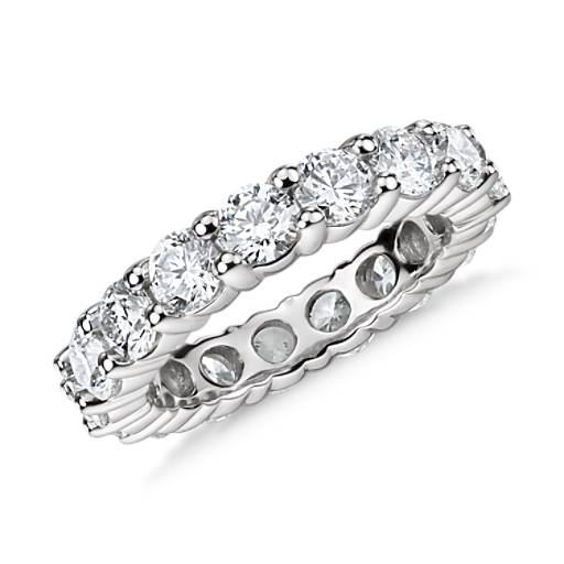 Classic Diamond Eternity Ring in Platinum (4 ct. tw)