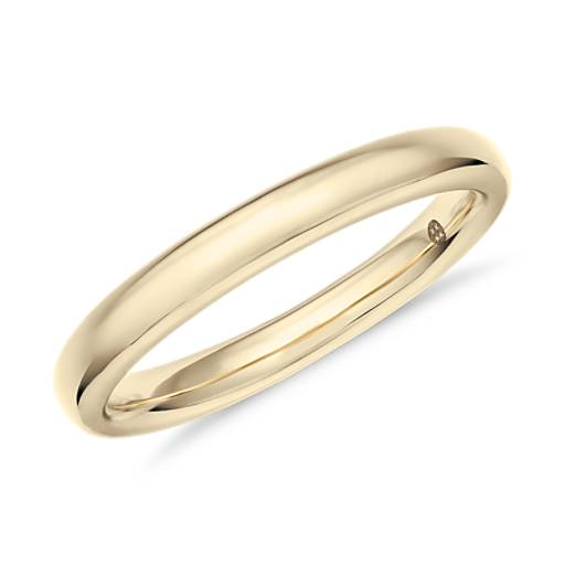 NEW Colin Cowie Classic Wedding Ring in 18k Yellow Gold