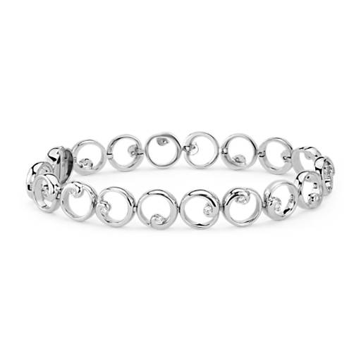 Colin Cowie Diamond Circle Bracelet in 14k White Gold (1/2 ct. tw.)