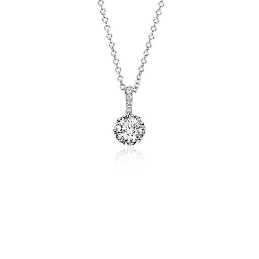NEW Colin Cowie Diamond Pendant in 14k White Gold (1/2ct tw )
