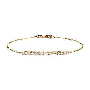 Colin Cowie Dot Dash Bracelet in 14k Yellow Gold