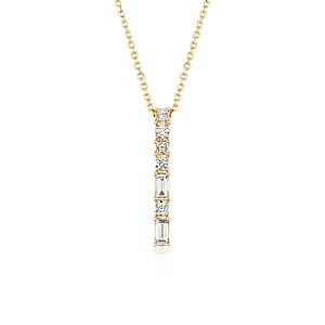 Colin Cowie Dot Dash Pendant in 14k Yellow Gold