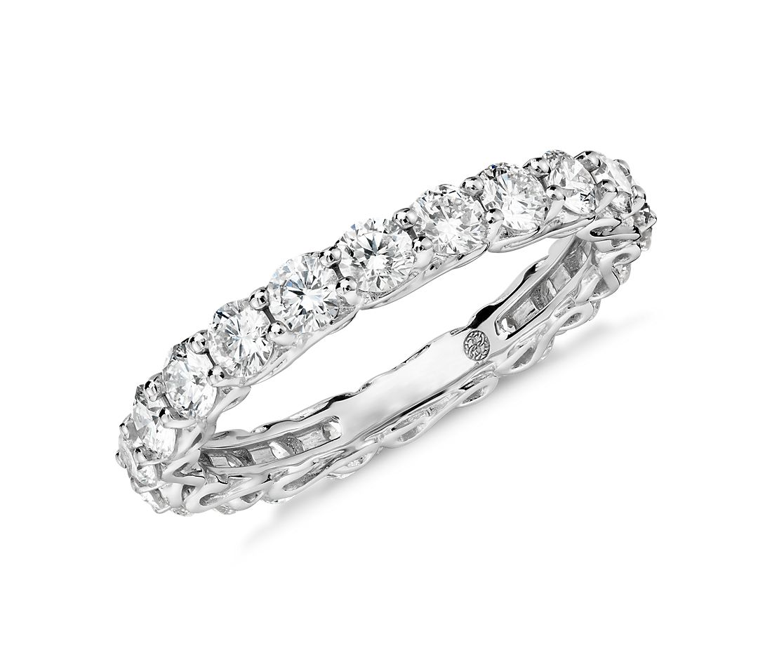 colin cowie infinity eternity ring in platinum 2