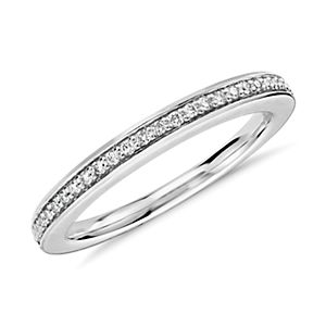 Colin Cowie Pavé Diamond Ring in Platinum