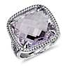 Lavender Amethyst Ring in Sterling Silver