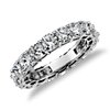 Cushion-Cut Diamond Eternity Ring in Platinum (6 ct. tw.)