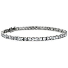 Cushion Diamond Tennis Bracelet in Platinum (6.5 ct. tw.)