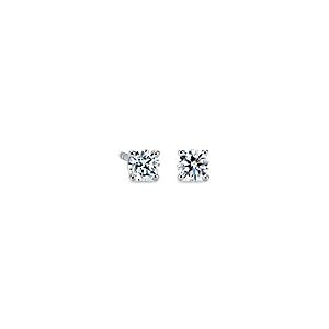 Diamond Stud Earrings in 14k White Gold (1/2 ct. tw.)
