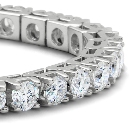 Bracelets tennis diamants