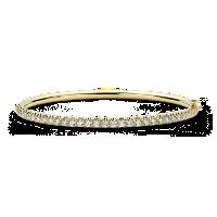 Jonc à charnière diamant pavé en or jaune 18carats (2,53carats, poids total)