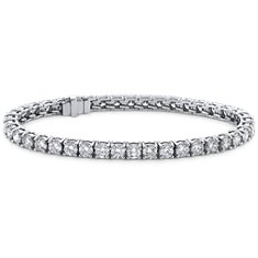 Brazalete de diamantes de talla ideal exclusivo de Blue Nile (10 qt. total)