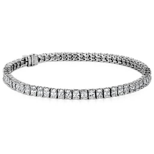 Radiant-Cut Diamond Bracelet in Platinum (7 ct. tw.)