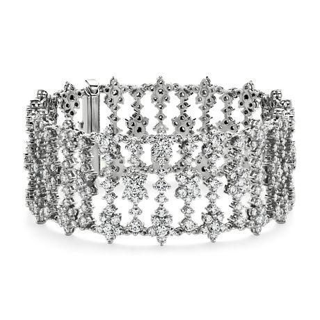 Bracelet diamants en or blanc 18carats (18,23 ct. pt.)