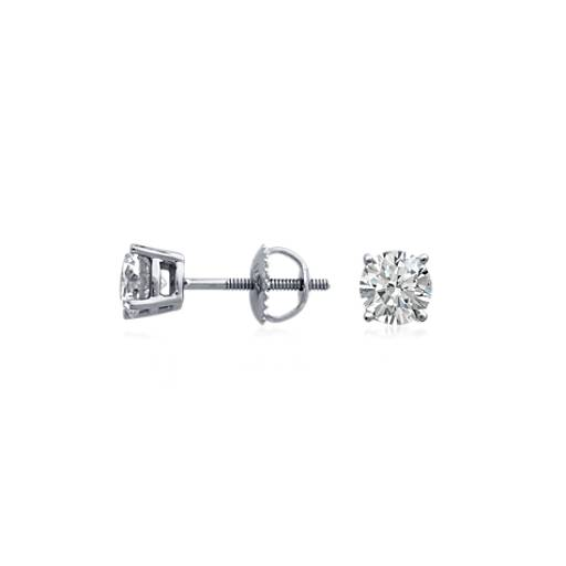 Premier Diamond Earrings in Platinum (1 ct. tw.)