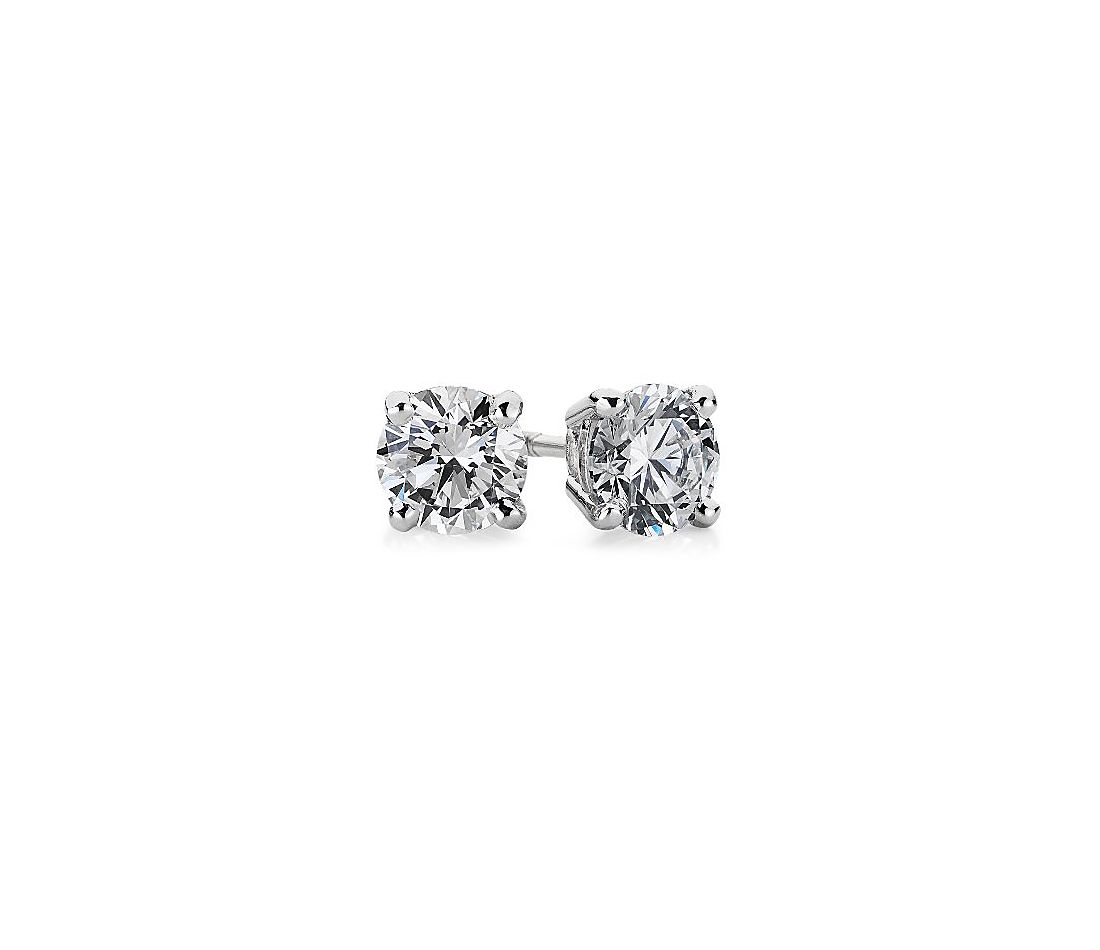 Premier Diamond Stud Earrings in Platinum (1/3 ct. tw.)
