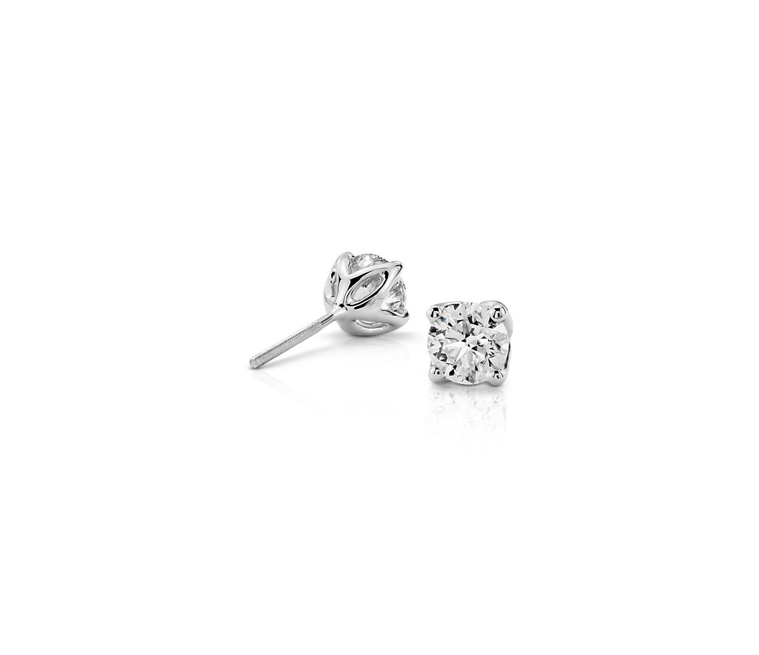Petal Diamond Earrings in Platinum (1.50 ct. tw.)
