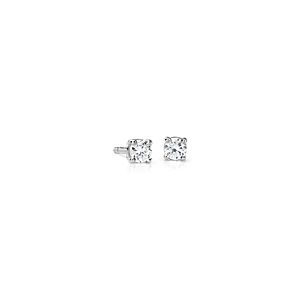 Premier Diamond Stud Earrings in Platinum (1/4 ct. tw.) -  F / VS
