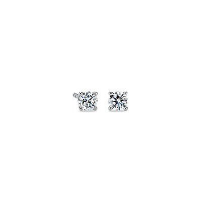 Premier Diamond Earrings in Platinum (1/2 ct. tw.) - F / VS