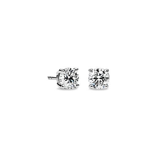 Diamond Stud Earrings in Platinum (1 1/2 ct. tw.)